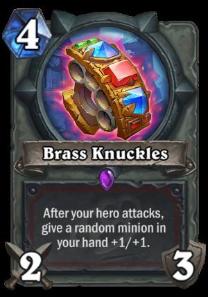 Brass Knuckles Card
