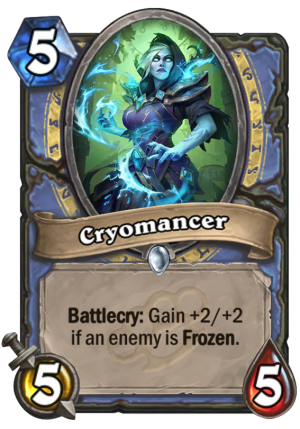 Cryomancer Card
