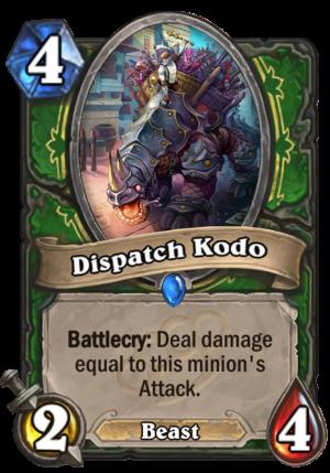 Dispatch Kodo Card