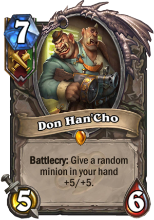 Don Han'Cho Card