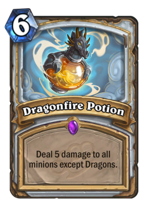 Dragonfire Potion Card