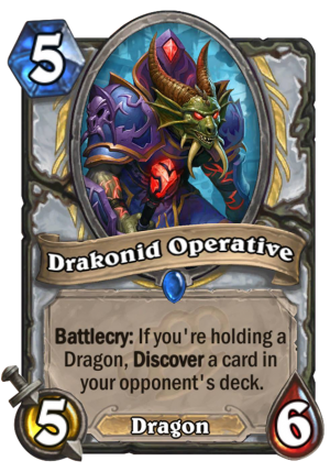 Drakonid Operative Card