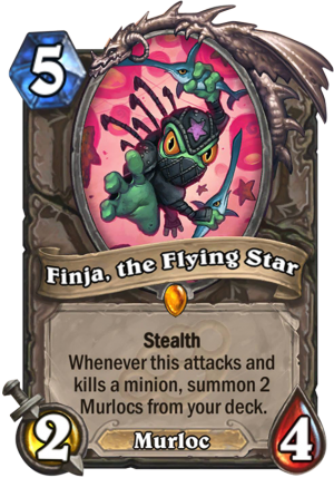 Finja, the Flying Star Card