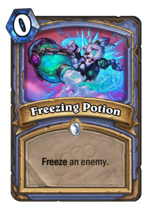 Freezing Potion Card