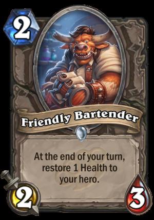 Friendly Bartender Card