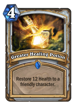 Greater Healing Potion Card