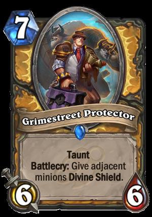 Grimestreet Protector Card