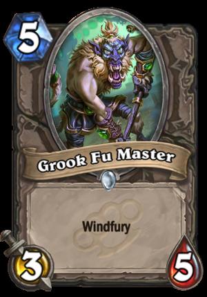 Grook Fu Master Card