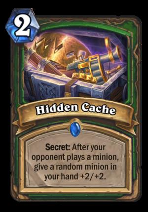 Hidden Cache Card