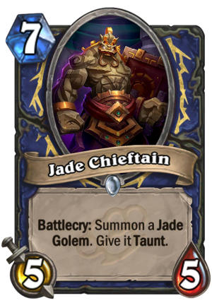 Jade Chieftain Card