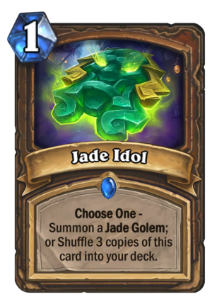 Jade Idol Card