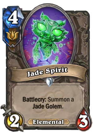 Jade Spirit Card