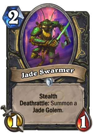 Jade Swarmer Card