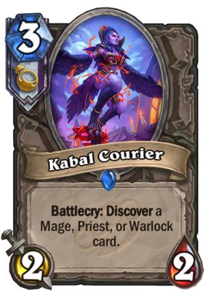 Kabal Courier Card