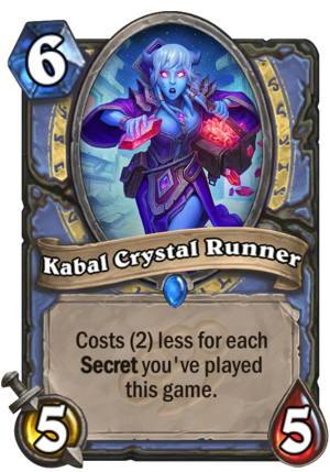 Kabal Crystal Runner Card