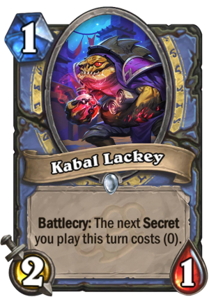 Kabal Lackey Card