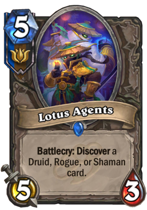 Lotus Agents Card