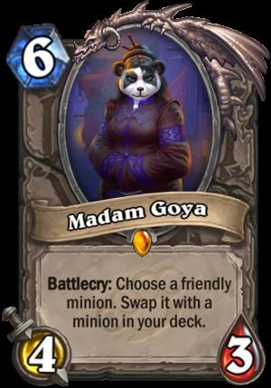 Madam Goya Card