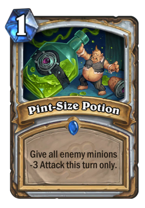 Pint-Size Potion Card