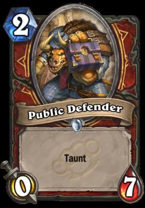 Public Defender Card