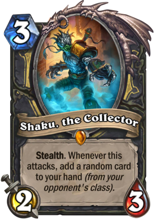 Shaku, the Collector Card