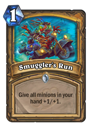 Smuggler's Run Card