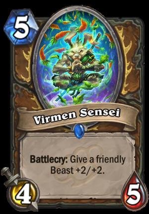 Virmen Sensei Card