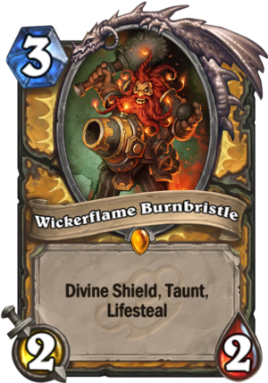 Wickerflame Burnbristle Card