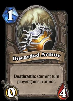 Discarded Armor Card