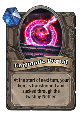 Enigmatic Portal Card