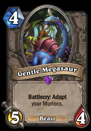 Gentle Megasaur Card