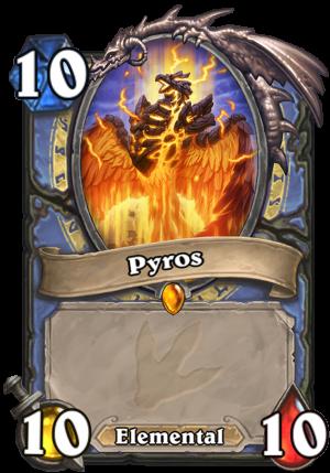 Pyros (Token 2) Card