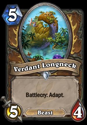 Verdant Longneck Card
