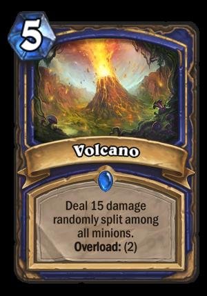 Volcano Card