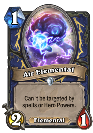 Air Elemental Card