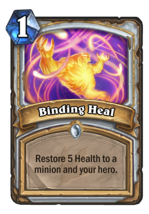 Binding Heal Card