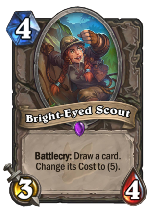 Bright-Eyed Scout Card