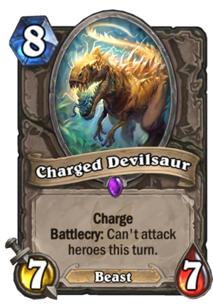 Charged Devilsaur Card