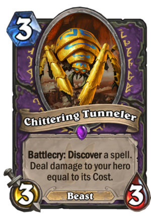 Chittering Tunneler Card
