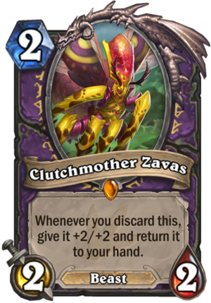 Clutchmother Zavas Card