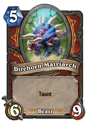 Direhorn Matriarch Card