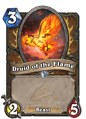 Druid of the Flame (Defense) Card