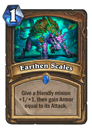Earthen Scales Card