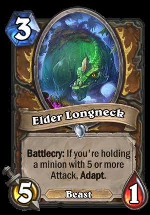 Elder Longneck Card