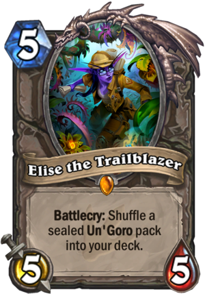 Elise the Trailblazer Card