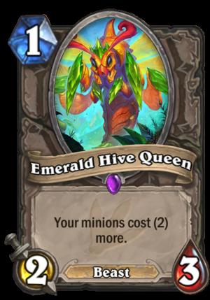 Emerald Hive Queen Card