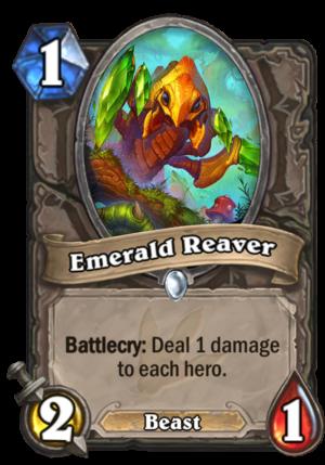 Emerald Reaver Card