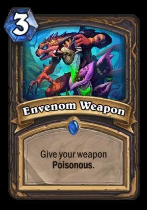 Envenom Weapon Card