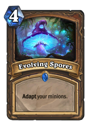 Evolving Spores Card