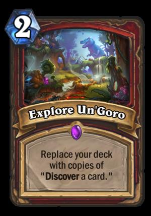 Explore Un'Goro Card